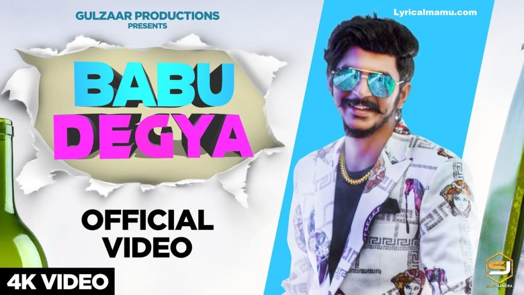 Lyrics Babu Degya